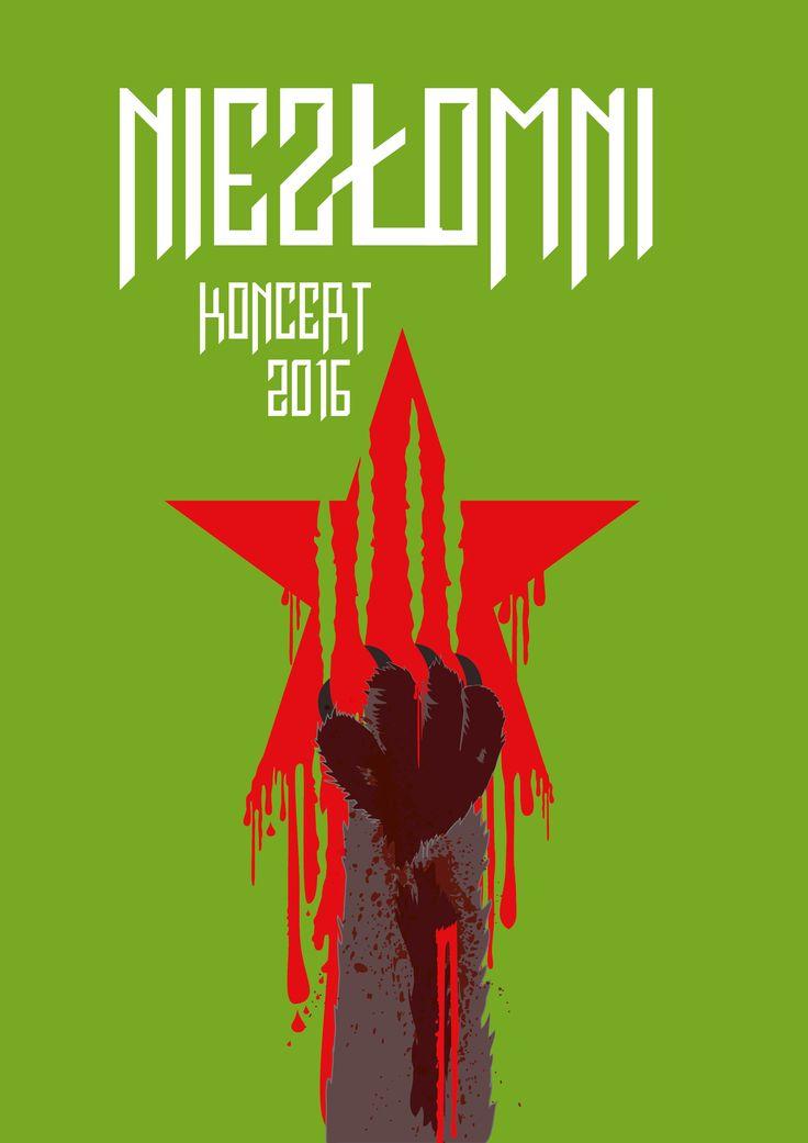 poster dedicated to the Soldiers Cursed / Żołnierze Wyklęci / Żołnierze Niezłomni /