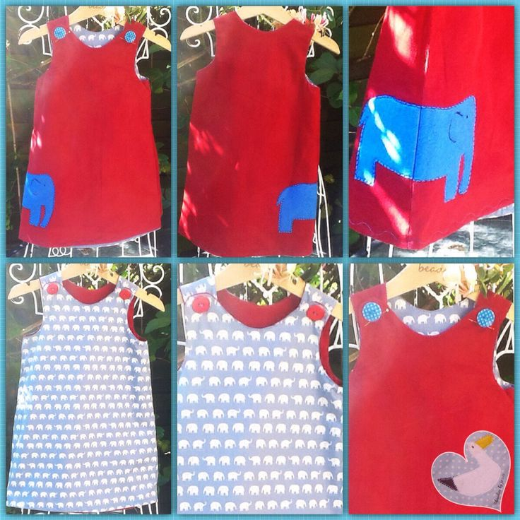 Reversible Dress - pinned by pin4etsy.com