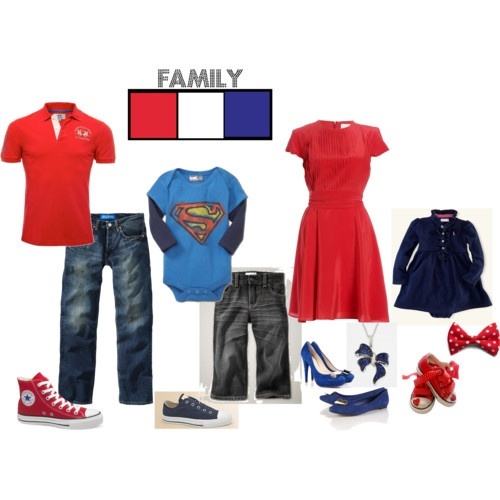 Picture Day Outfit Ideas --Nothing Fancy, just a little patriotic