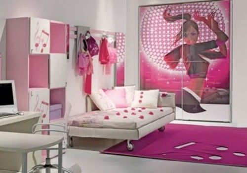 216 best todo color rosa images on pinterest for Dormitorio adolescente