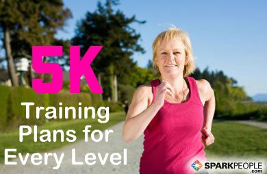 5K Training Plans for Walkers and Runners | via @SparkPeople #fitness #exercise #workout #C25K