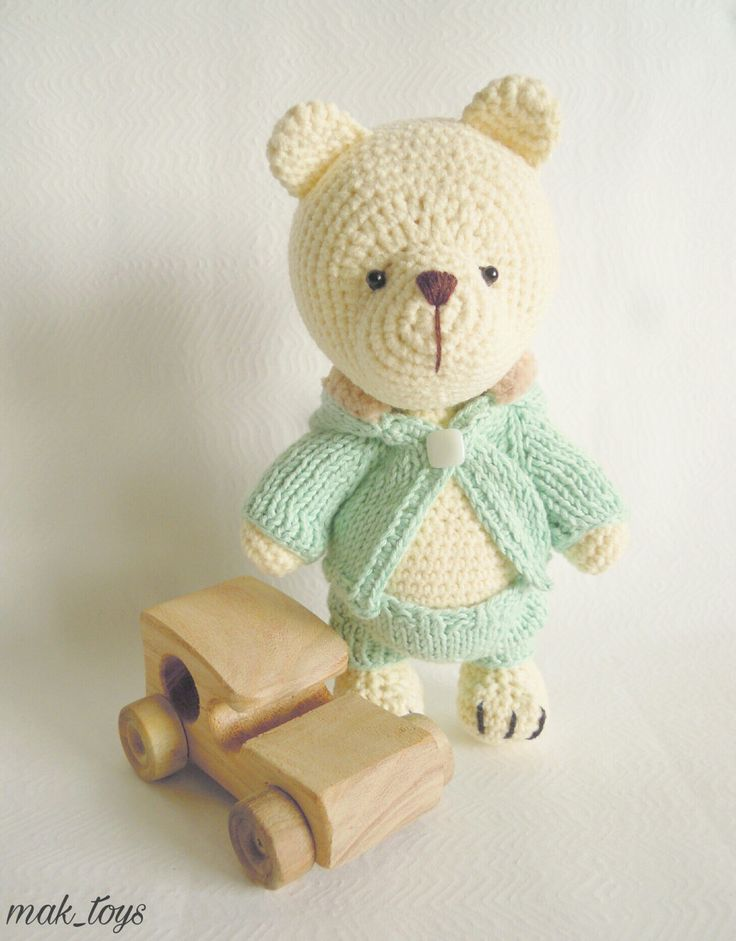 Teddy bear by svetlanadragoi on Etsy