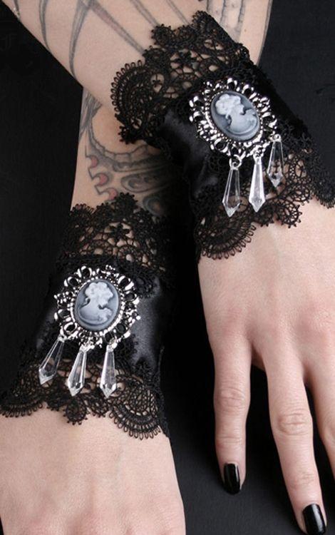 Cameo Wrist Cuffs