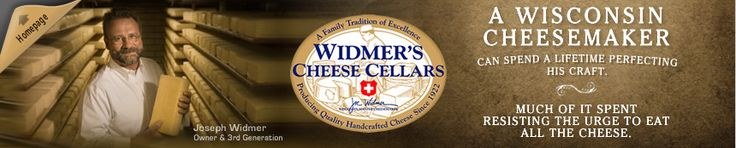 Award-winning Widmer's Cheese takes pride in promoting Wisconsin cheese. Joe Widmer is proud to be a 3rd generation cheesemaker from the quaint town of Theresa, Wisconsin.