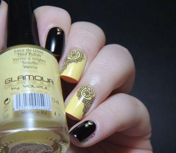 Arabesque Water Decals nail art #nails #nailart #bestnails