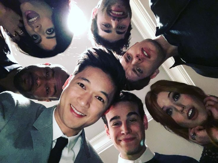 These faces can't wait for you to see the #Shadowhunters series premiere Tuesday at 9pm|8c on @freeform!!!