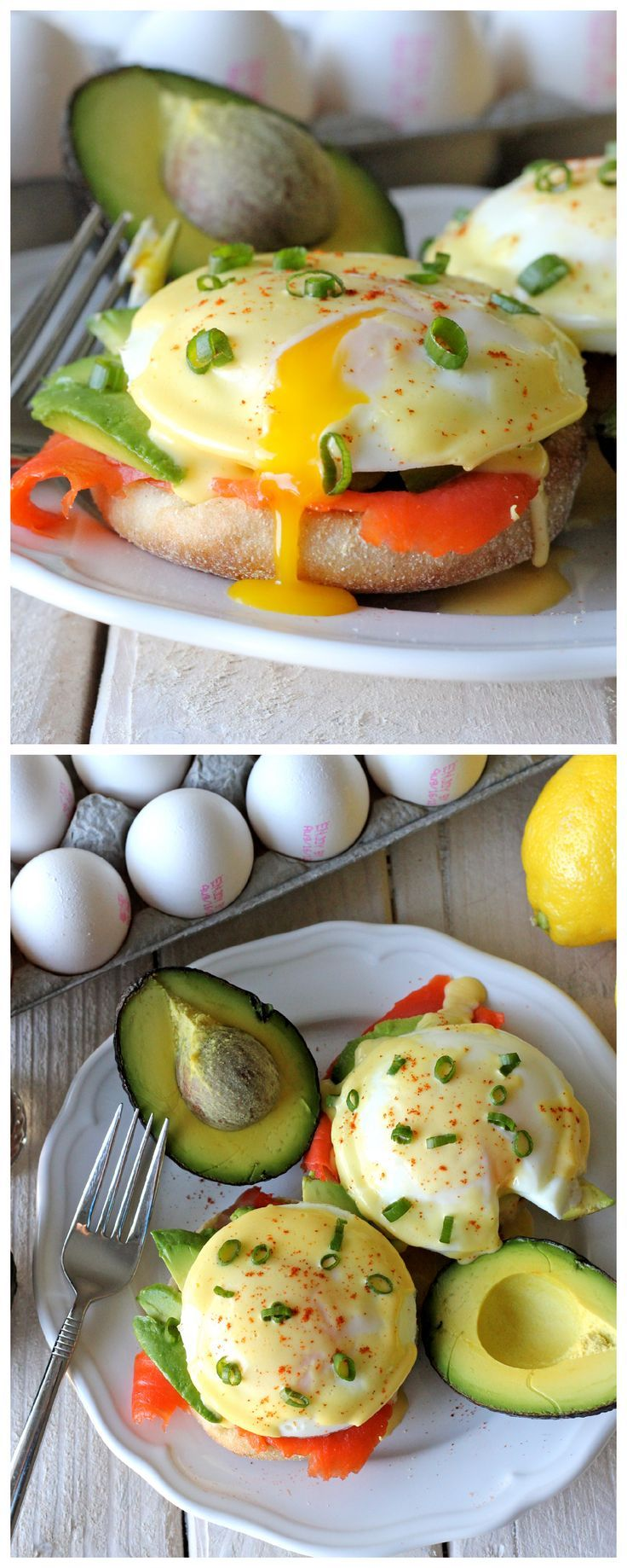 Smoked Salmon Eggs Benedict - No need to overpay for restaurant eggs benedict anymore. This homemade version is easy, tastier, and so much cheaper!