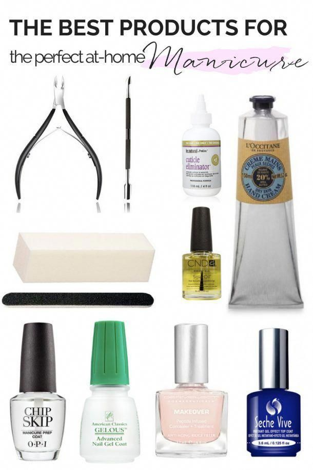 The Best Products for a Perfect at-home Manicure
