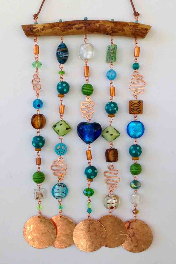 86 best images about windchimes wind spinners on for Wind chimes homemade crafts