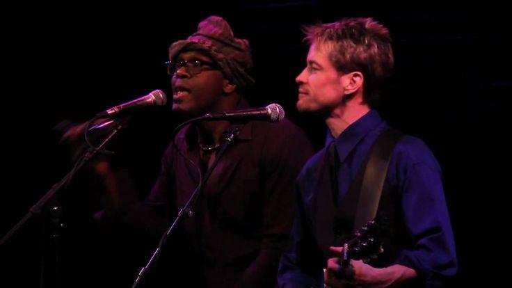 "Everett Bradley percussion + Conrad Korsch guitar solos on ""UNTIL WE MEET AGAIN"" @ Joe's Pub, NYC"