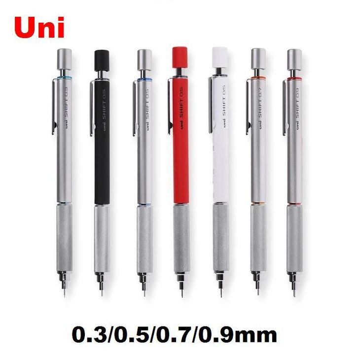 Дешевое Uni бренд M5 110 механические карандаши 0.3 / 0.5 / 0.7 / 0.9 мм полностью металлический рисунок специальный для школы и офиса канцелярские, Купить Качество Механические карандаши непосредственно из китайских фирмах-поставщиках:    M&G Brand  full metal 0.5mm mechanical pencil for school & office stationery  2pcs/lotUS $ 9.90/lotZEBRA DM5-300 0.3/