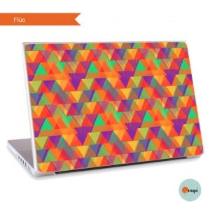 Skin para Notebook Flúo by Mapi Arte