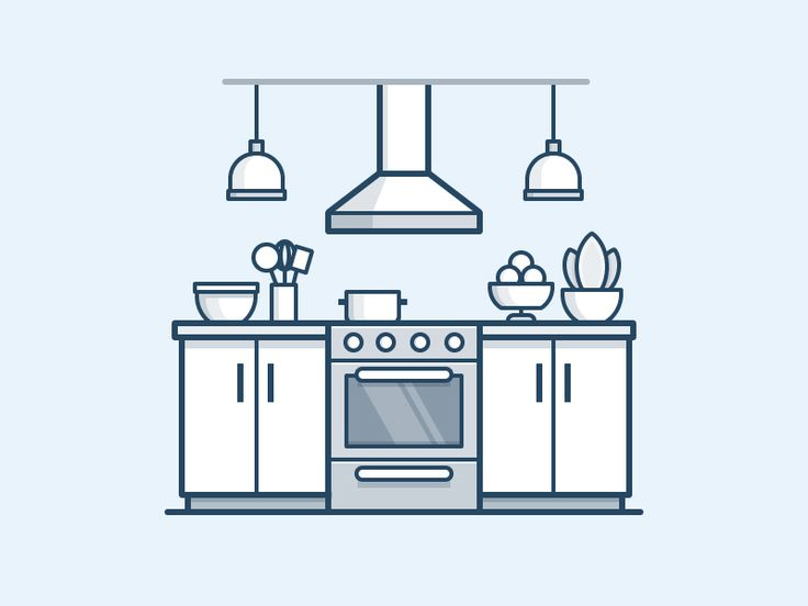 Kitchen Icon by Scott Tusk