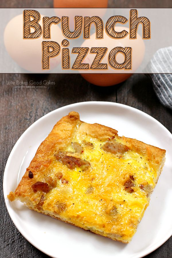Your weekend brunch just got a whole lot tastier with this Brunch Pizza! See why it's a family favorite!