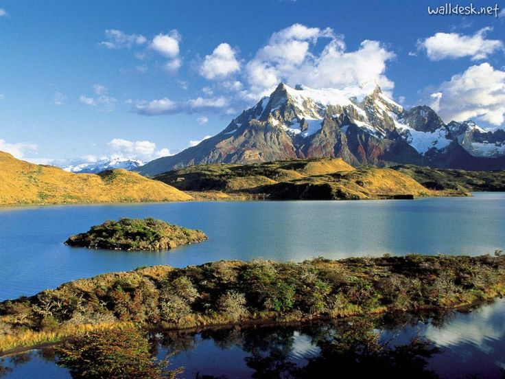 Chile, the land of ocean and mountains, and wine, and pisco sours...