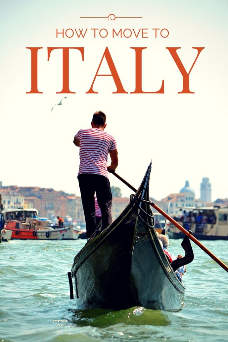 How to move to Italy - Luca Travels Around