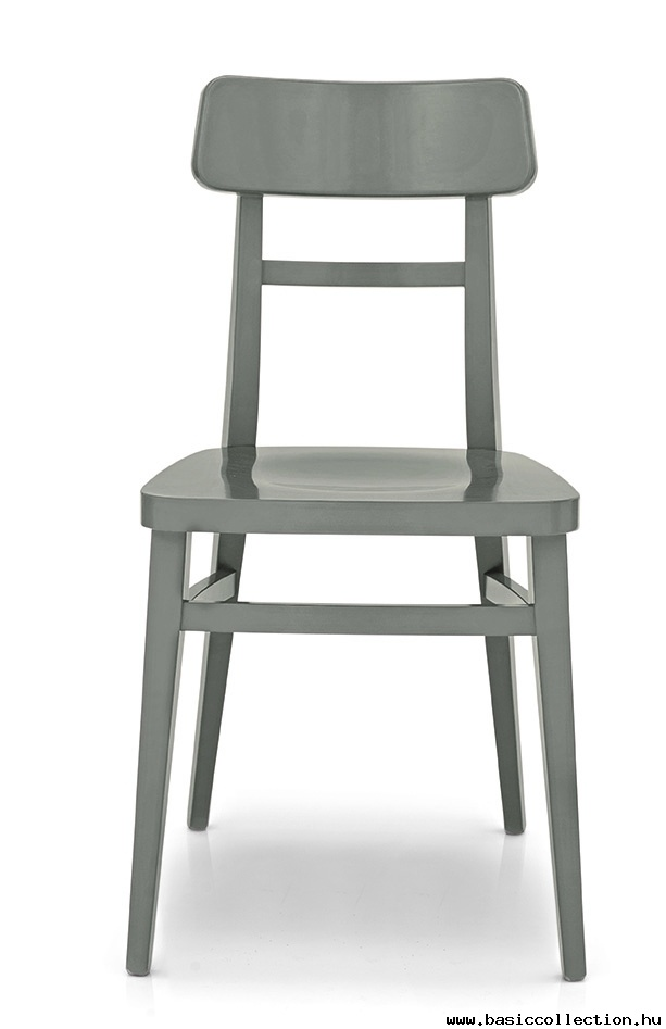 Basic Collection, Milano chair  #wood #chair #design #furniture #milano #grey