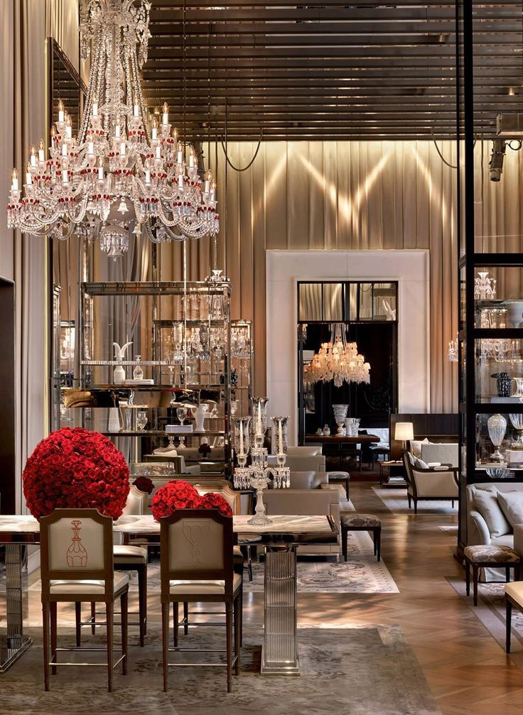 1000 images about event decor on pinterest tall - Baccarat hotel new york ...