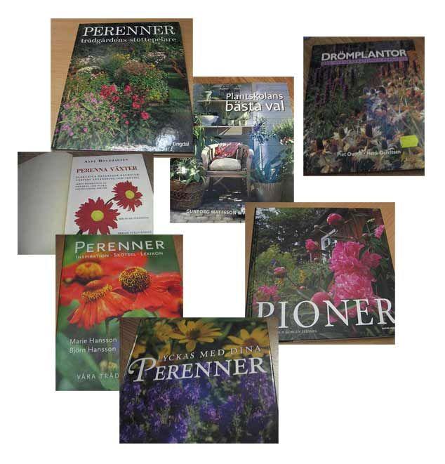 Det finns många bra böcker om perenner.....