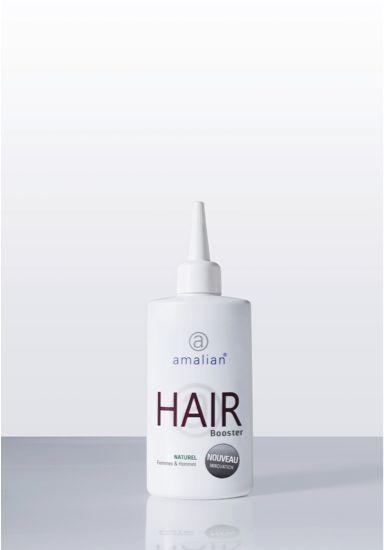 amalian® HAIR BOOSTER favorise l'augmentation du nombre de follicules en phase de croissance active.
