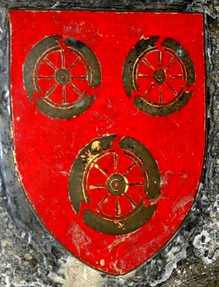 We are descended through Joan Beaufort, the daughter of Katherine Swynford and John of Gaunt