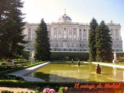 Los Trabajos de Jardinería de Fernando García Mercadal en Madrid, Jardines de Sabatini http://elpaisajedemadrid.blogspot.com.es/2014/01/los-trabajos-de-jardineria-de-fernando.html