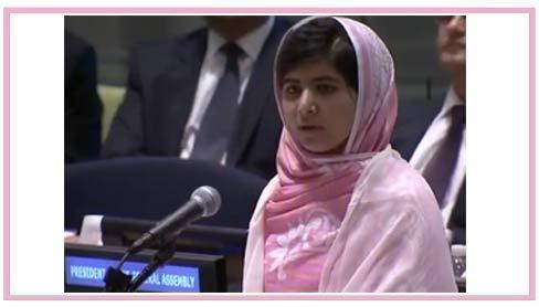 Malala Yousafzai și al său emoționant discurs în fața ONU