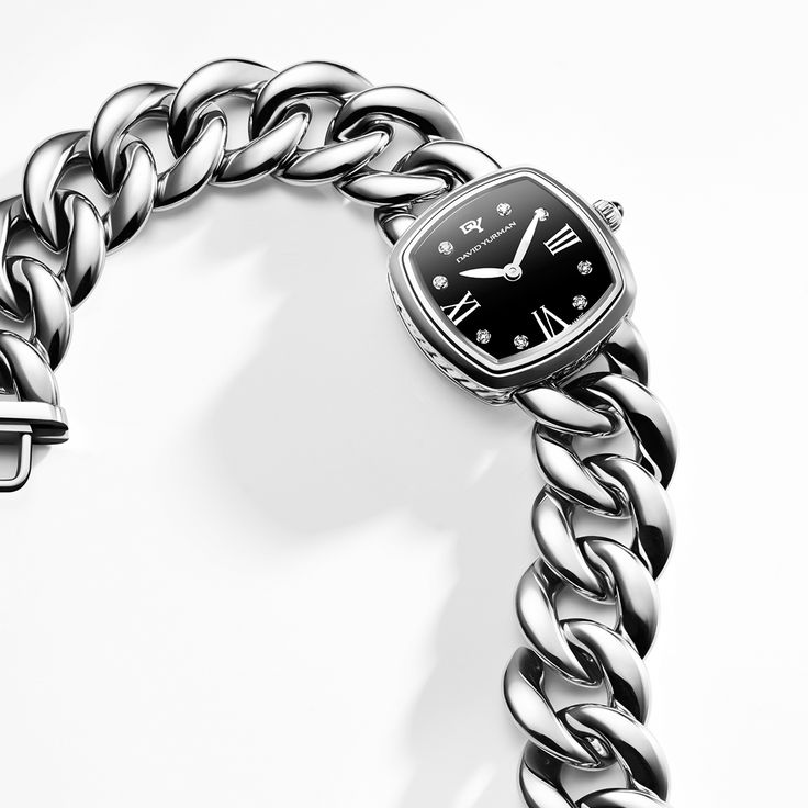 Albion® timepiece in stainless steel.