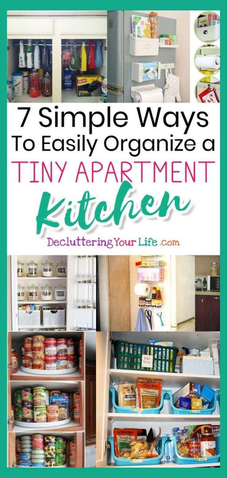 Small Apartment Kitchen Storage Ideas That Won T Risk Your Deposit Small Apartment Kitchen Storage Ideas Apartment Kitchen Storage Ideas Small Apartment Kitchen