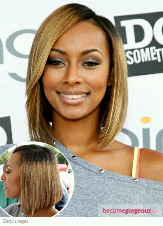 Keri Hilson has had some of the prettiest bobs known to man