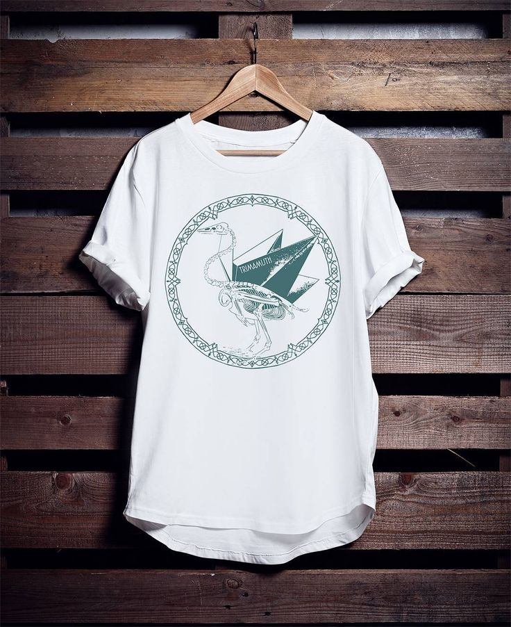 Kiknorigami T-shirt Available on our website for only 13  P&P!  #tee #swan #design #Aves #AvesTribe #bird #WhiteTee #tshirt