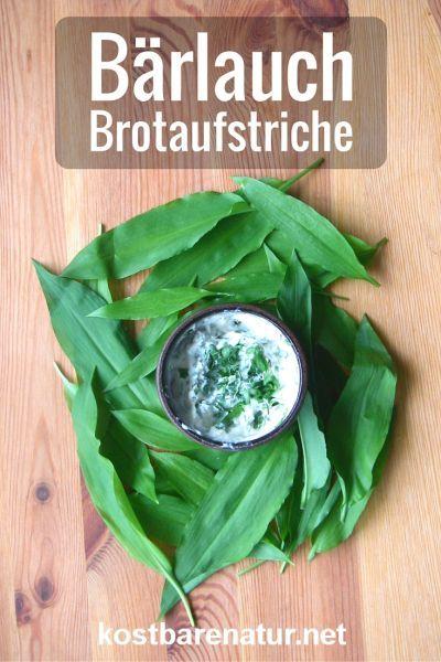 Bärlauch zählt zu den schmackhaftesten Wildpflanzen überhaupt und macht sich wunderbar in pflanzlichen Brotaufstrichen.