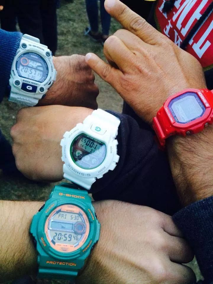 FRIENDS @ ROCK IN RIO #gshockportugal