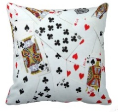 Card Pillows For Game Room Decor