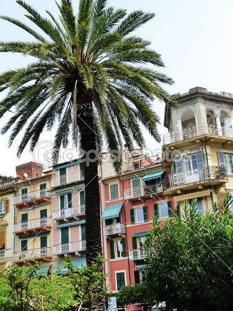 Streets of Lerici, Liguria, Italia