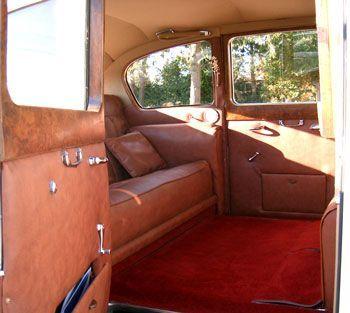 Vanden Plas Princess Limousine Interior