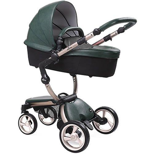 http://www.infanteducationaltoys.com/category/mima-xari/ Mima Xari Stroller - Rose Gold/British Green/Black