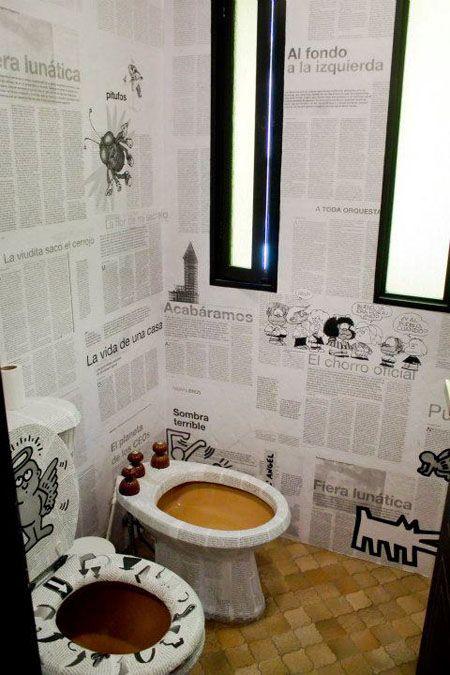 26 best WC DECOR IDEAS images on Pinterest | Bathroom ideas ...