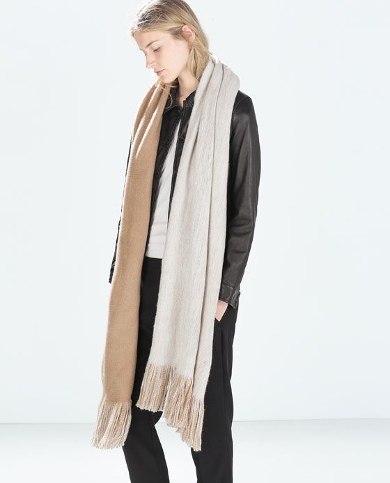 ZARA - WOMAN - SOFT DOUBLE-LAYERED SCARF