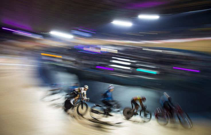 London, England  Great Britain's Bradley Wiggins rides during the 60-lap Derny, part of the London Six Day cycling event at the Velodrome. Wiggins was racing for the first time after a period he described as 'topsy-turvy'. Data stolen by Russian hackers, the Fancy Bears, from files held by the World Anti-Doping Agency showed Wiggins received three therapeutic use exemptions for the anti-inflammatory drug triamcinolone – a substance which has a history of abuse in cycling and is otherwise…