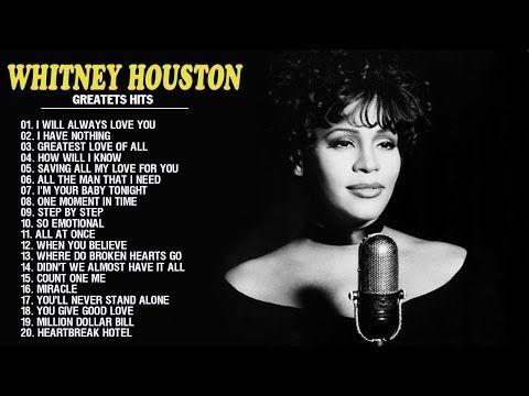 Whitney Houston Greatest Hits New Edition 2017 | Best Of Whitney Houston - YouTube