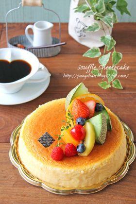 「ふわしゅわ〜スフレチーズケーキ☆」ぱお | お菓子・パンのレシピや作り方【corecle*コレクル】