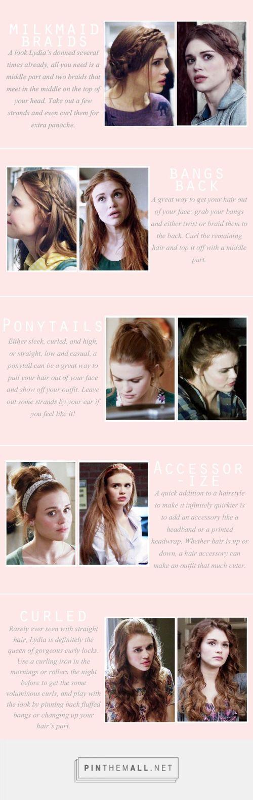 Lydia Martin Hairstyles