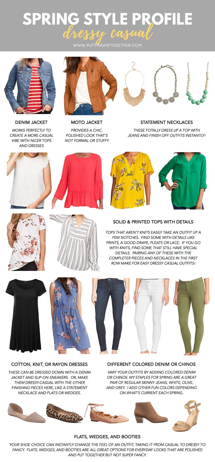 Spring Style Profile Dressy Casual Putting Me Together