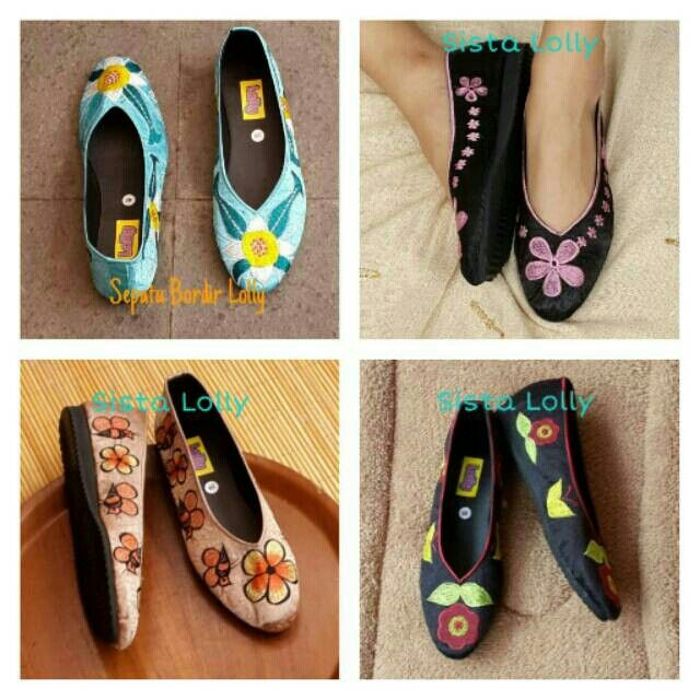 Saya menjual Sepatu Bordir Lolly Bunga seharga Rp85.000. Dapatkan produk ini hanya di Shopee! https://shopee.co.id/sistalolly/64128318 #ShopeeID