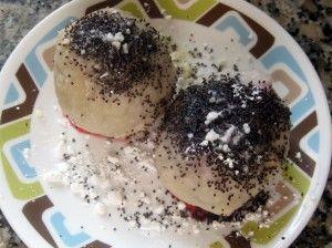 Delicious Slovak plum dumplings  Knedle