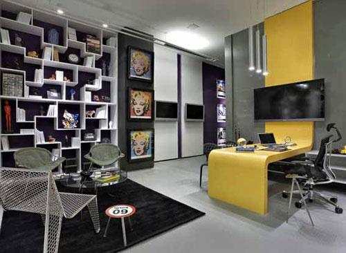 dream office (minus the Marilyn Monroe pop art)