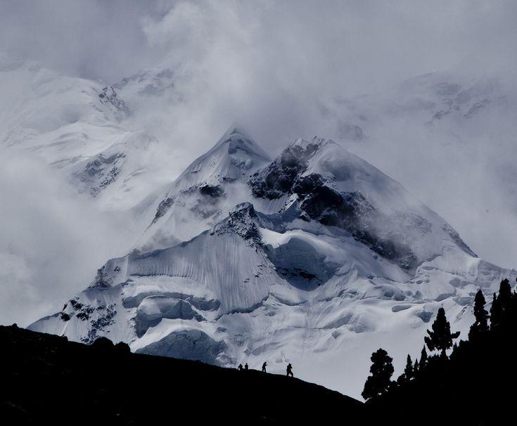 Rakaposhi (7788 m) Karakoram Pakistan | By Zahid Ali Khan [1024x844]