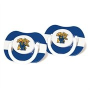 Kentucky Wildcats Royal Blue-White Striped 2-Pack Team Logo Pacifiers