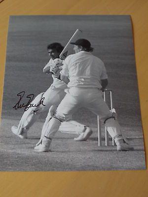 Signed Sunil Gavaskar India Cricket 12x8 Photo - Indian Cricket Legend
